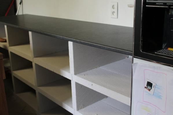 meuble de cuisine en beton cellulaire blog de creationsph