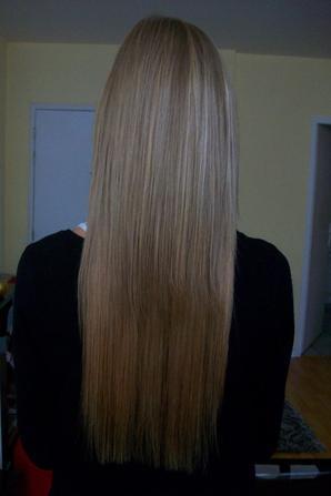 125 m ches blond claire cendr 55 cm 0 8g pose d 39 extensions pas cheres toulouse. Black Bedroom Furniture Sets. Home Design Ideas