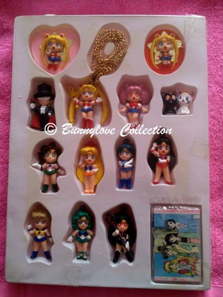 Yukata - Sailor Moon S - Keychains Set Box