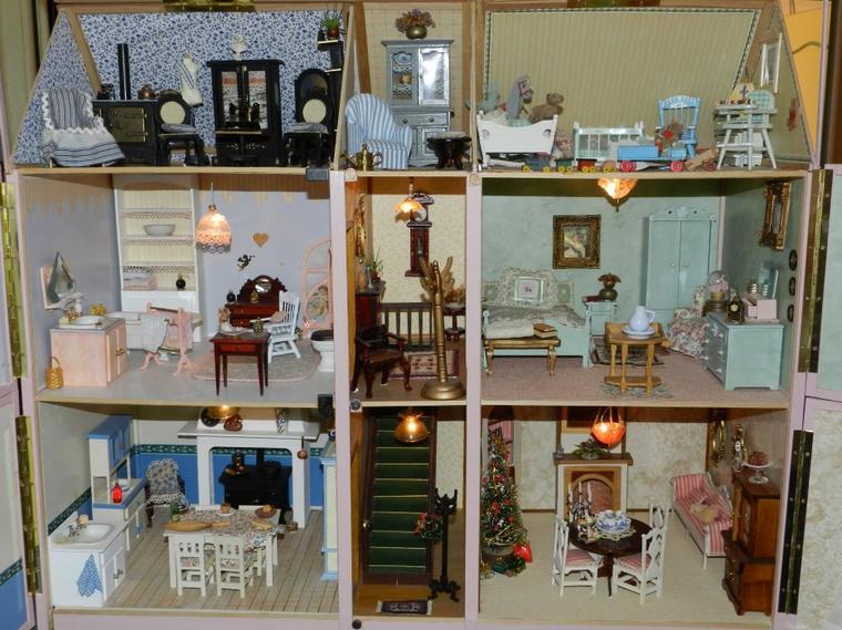 la maison de poupees partie 1 blog de toutoune42. Black Bedroom Furniture Sets. Home Design Ideas