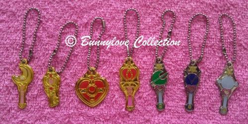 Bandai Sailor Moon Make Up Set 2 Keychains