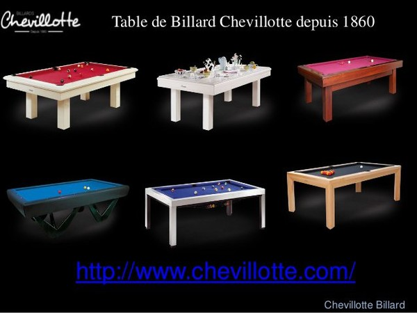 Tablebilliard 39 s blog table de billiard accessoire for Acheter table