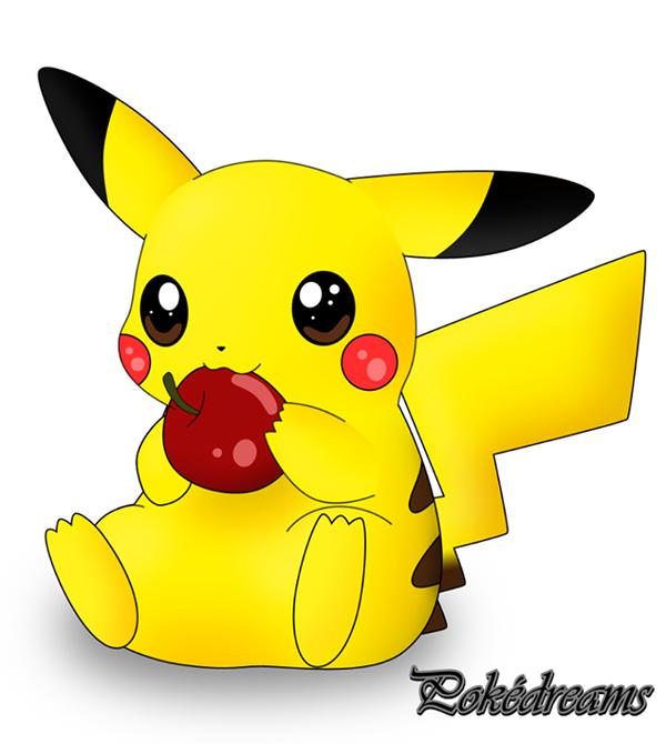 Pikachu mignon pokedreams - Dessin pikachu mignon ...
